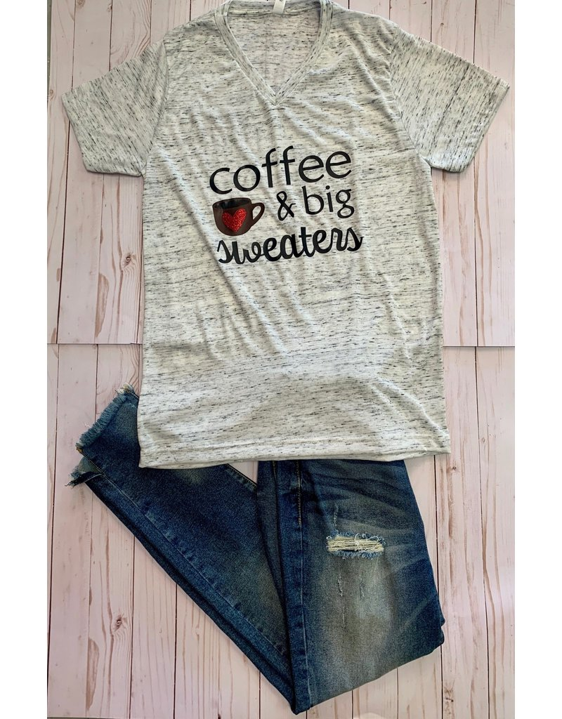 The Ritzy Gypsy COFFEE & Sweaters T-Shirt