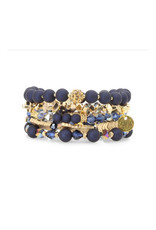 ERIMISH TROPICANA Erimish Navy Bracelet