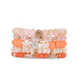 ERIMISH HOPE Erimish Bracelets Pink