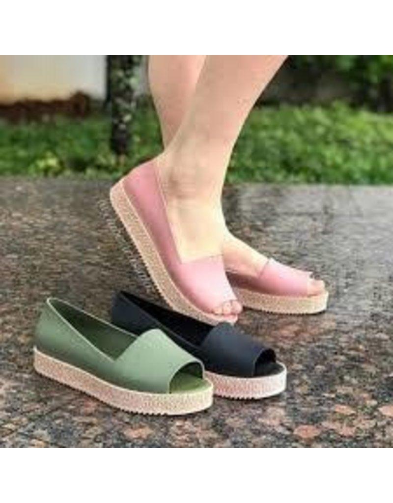 melissa EMILY Puzzle Blush Sandal
