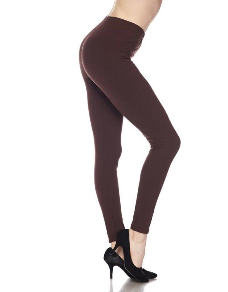 2NE1 Apparrel OLIVIA Brown Leggings