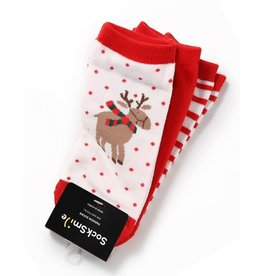 Salon de bebe CHRISTMAS CHEER Holiday Sock Set