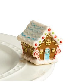 Nora Fleming GINGERBREAD HOUSE Mini by Nora Fleming