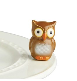 Nora Fleming OWL Mini by Nora Fleming