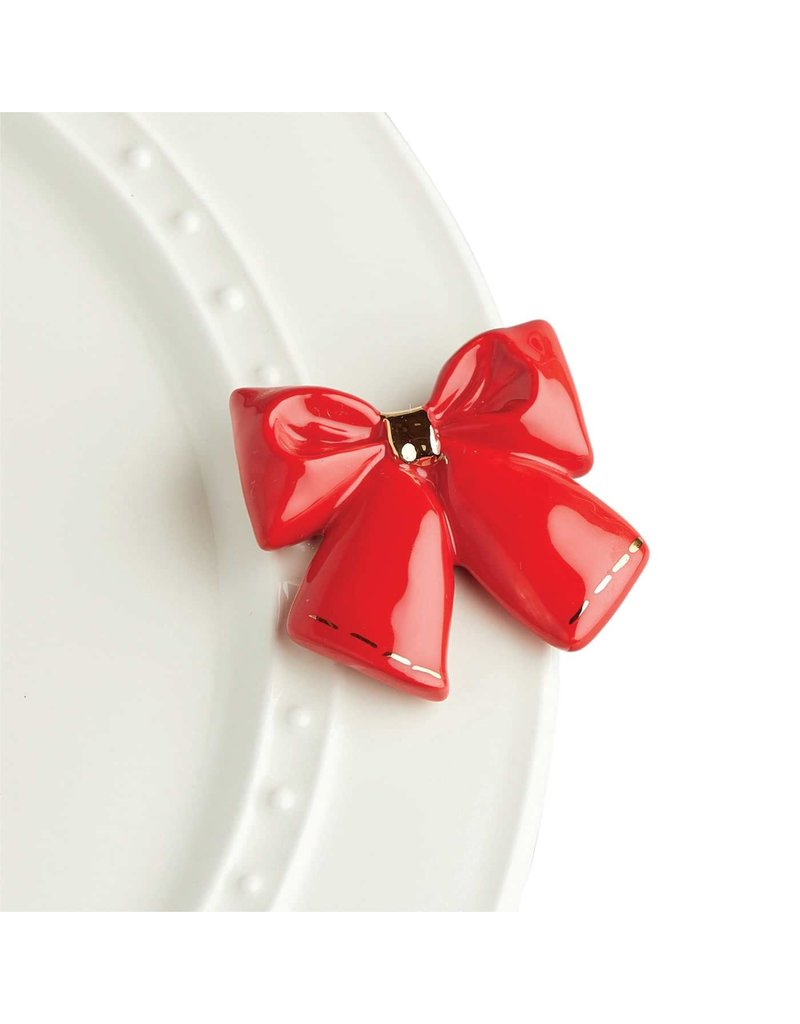 Nora Fleming RED BOW by Nora
