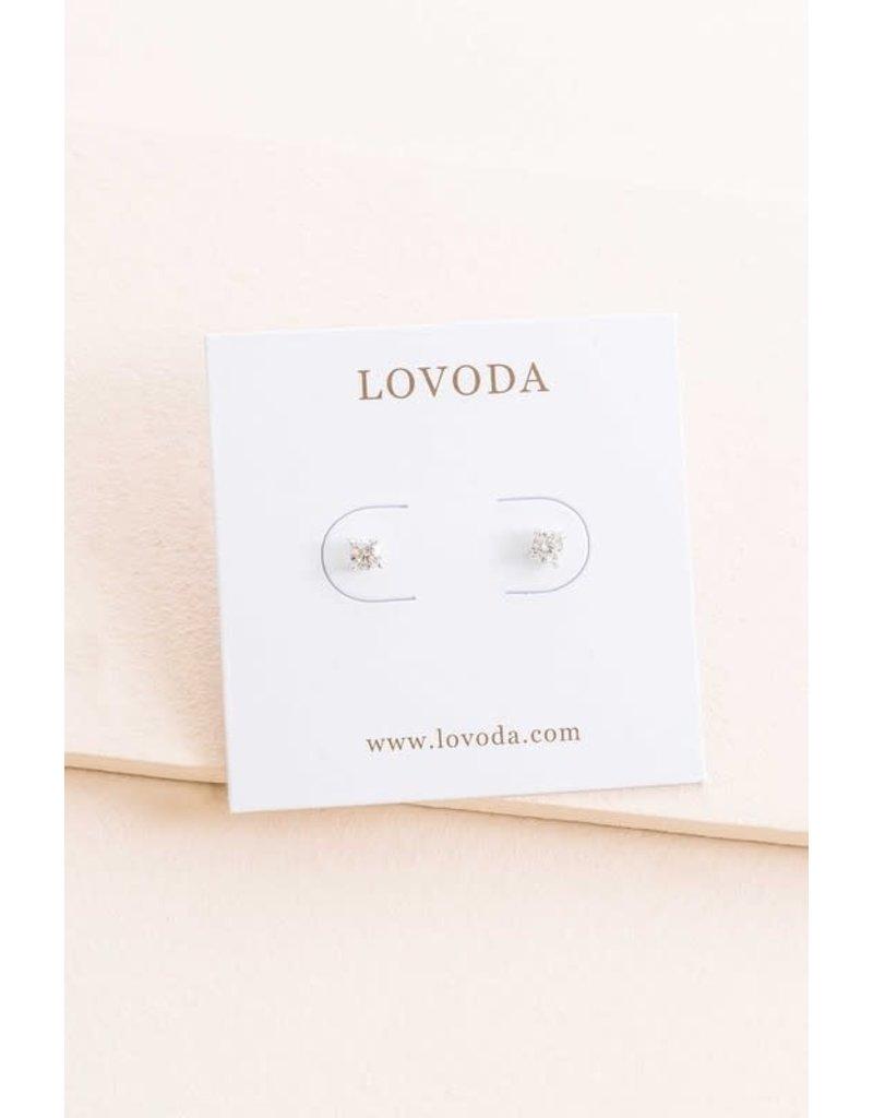 LOVODA SIMPLICITY Crystal Stud