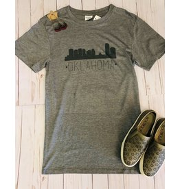 The Ritzy Gypsy Oklahoma SKYLINE Graphic Tee
