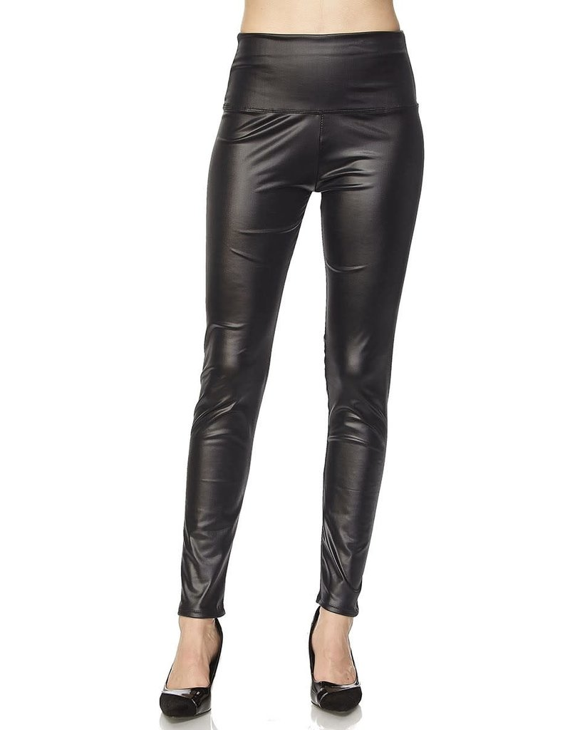 2NE1 Apparrel NEWTON Faux Black Legging