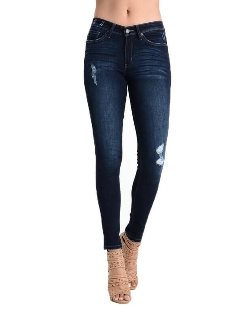 Kan Can DISTRESSED HIGHWAISTED JEANS by KanCan