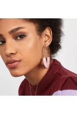 One Kiss ELDRIDGE Acrylic Earring with Crystals