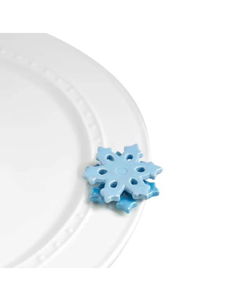 Nora Fleming SNOWFLAKE Mini by Nora Fleming
