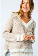 Cozy Casual ASHTON Knit Pullover Sweater (Oatmeal)