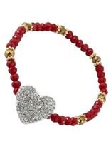 Your Fashion Wholesale LAYLA Heart Tassel Bracelet