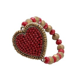 Your Fashion Wholesale ARACELY Crystal Red Bracelet