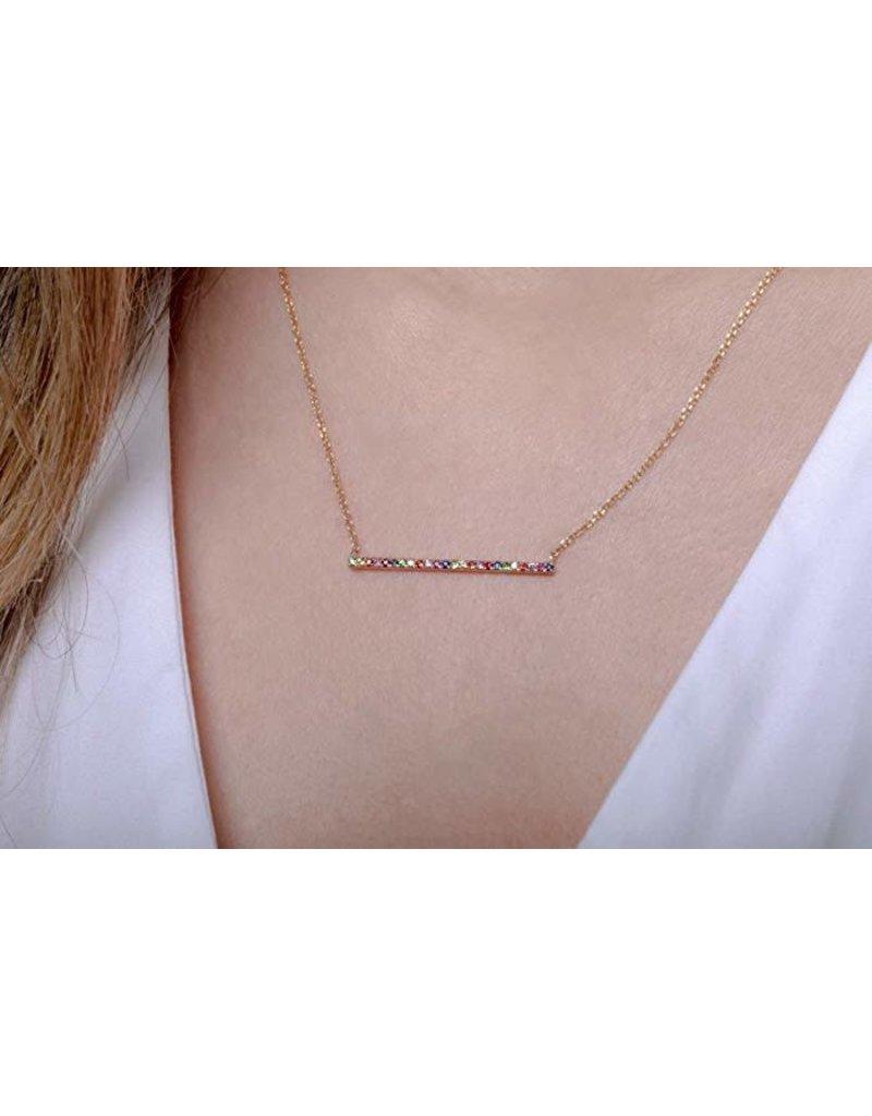 LOREN Multi Colored Necklace