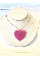 CUPID's HEART Acrylic Necklace