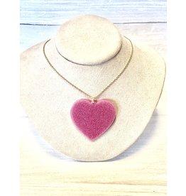 CUPID's HEART Acrylic Necklace