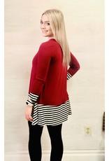 Zenana Premium RYLEIGH Striped Long Sleeve
