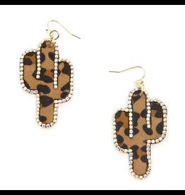 KNC WILDFLOWER Leopard Earring