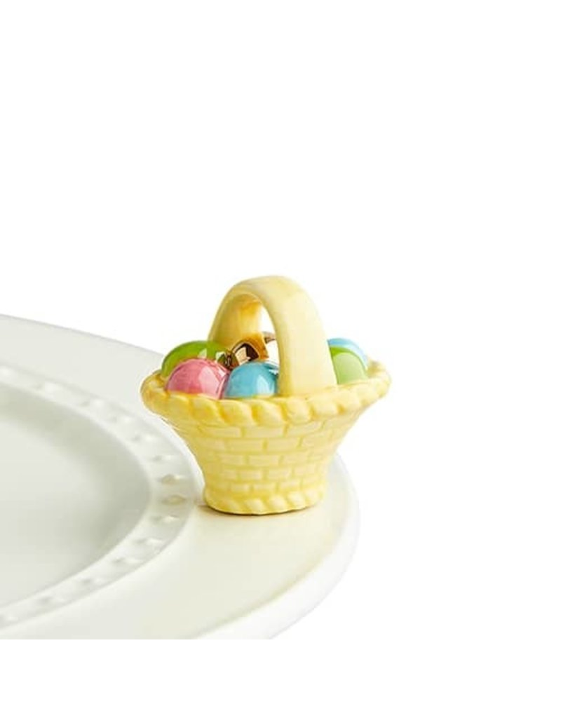 Nora Fleming EASTER BASKET Mini by Nora