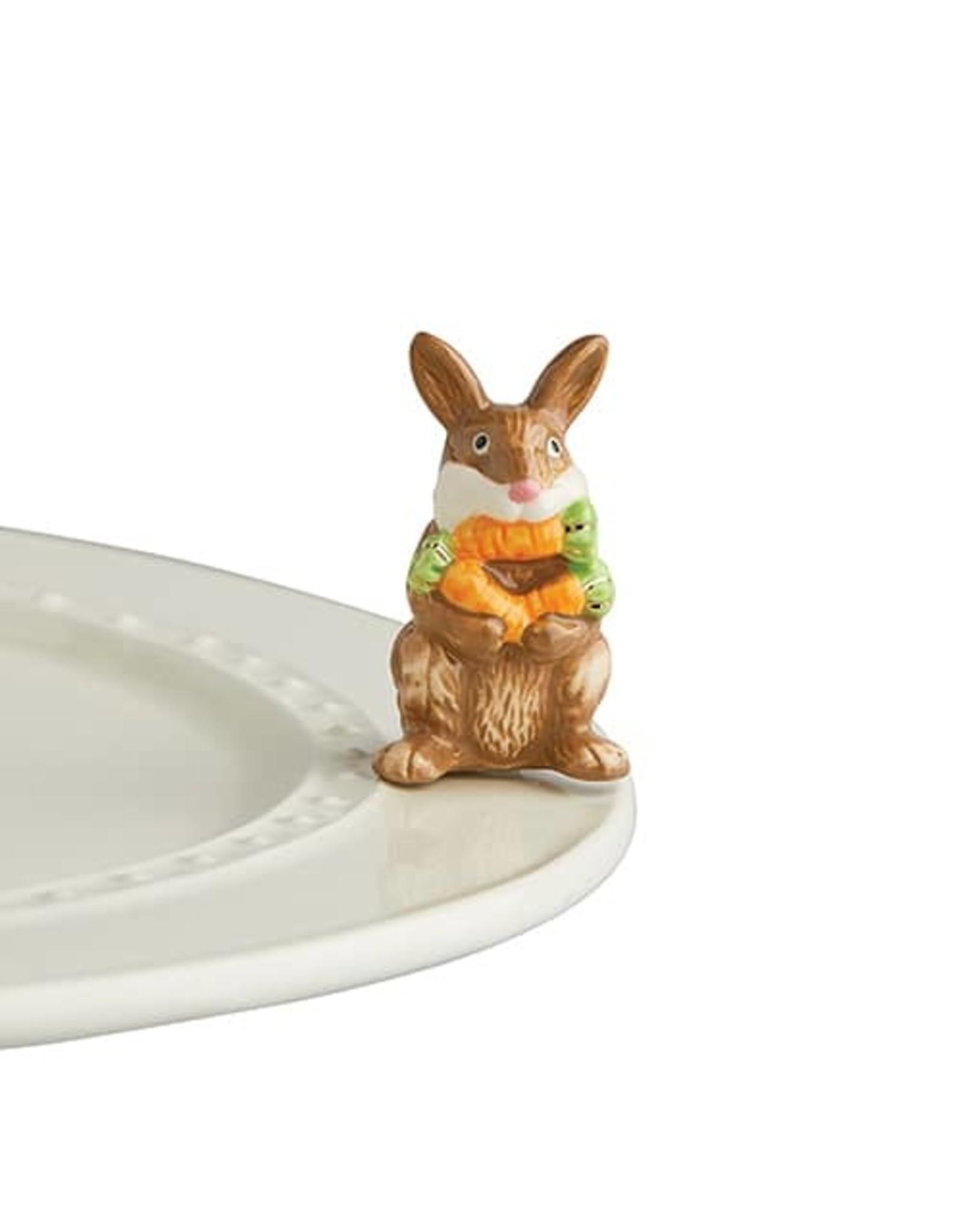 Nora Fleming FUNNY BUNNY Mini (Easter Bunny)