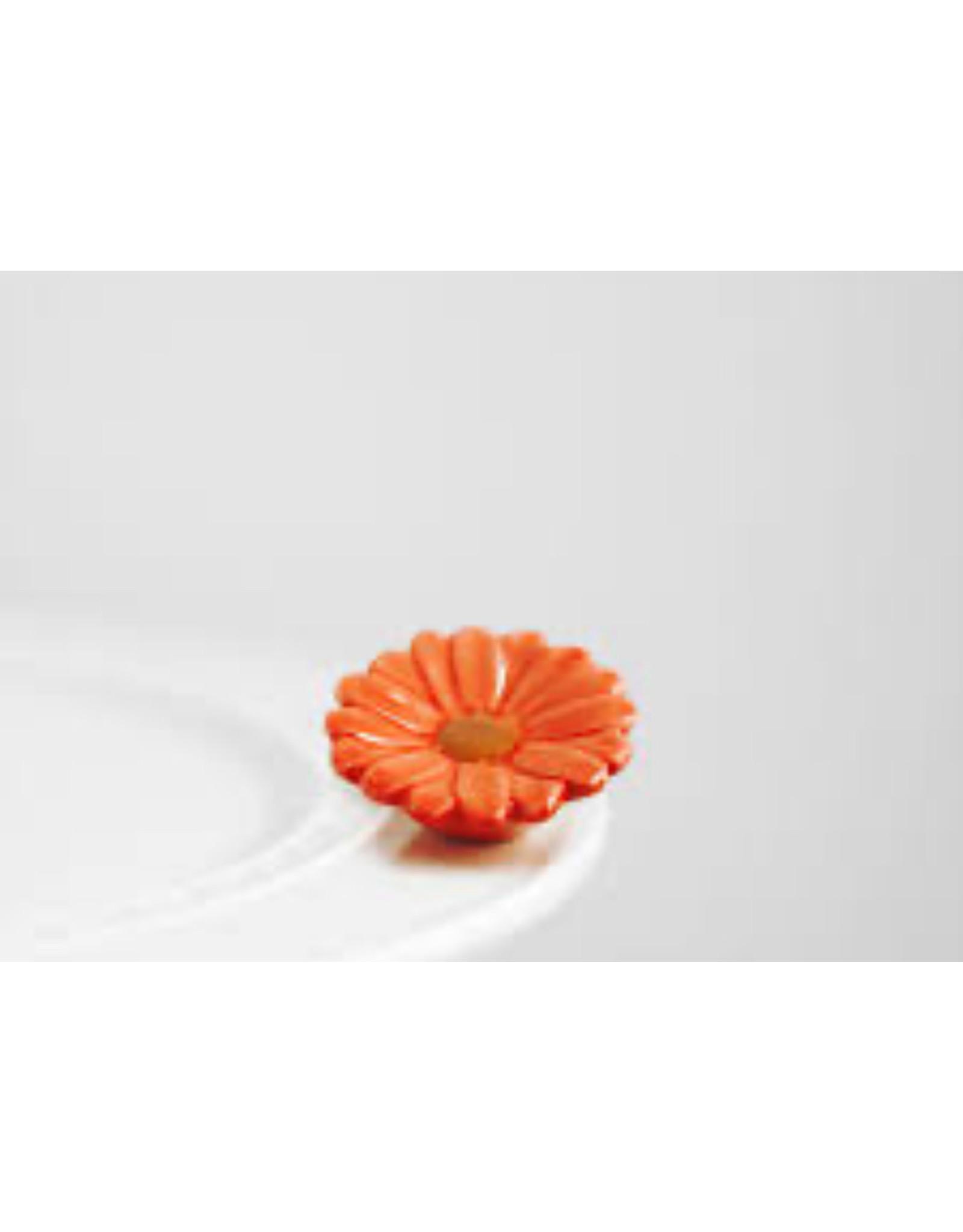Nora Fleming FLOWER POWER Mini (Orange Flower)