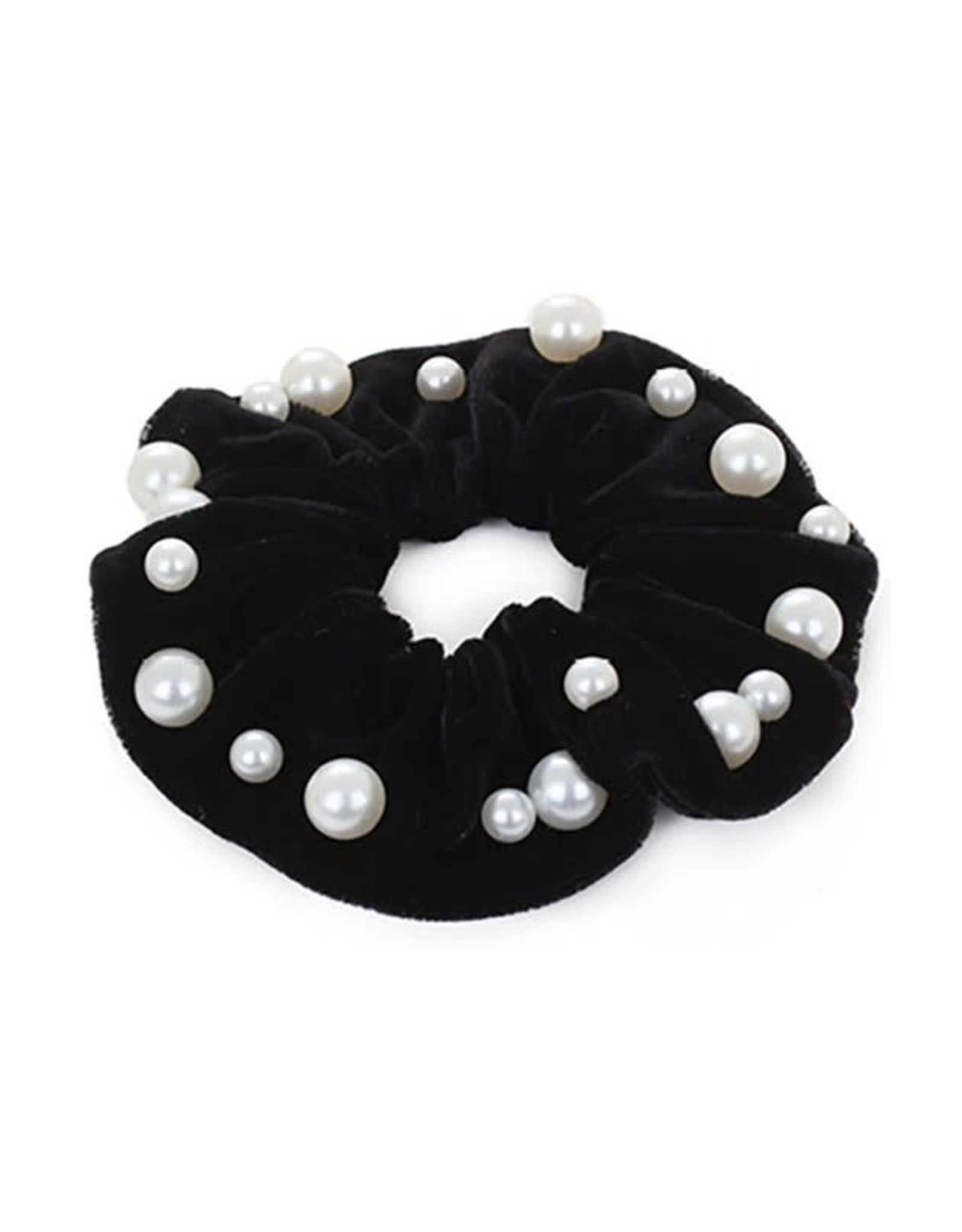 Funteze Accessories ENABLE Pearl Scrunchie