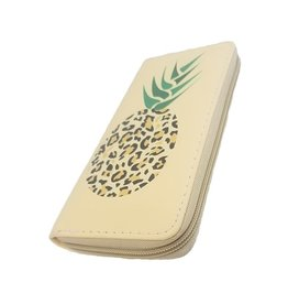 Wona STAND TALL Leopard Pineapple Wallet