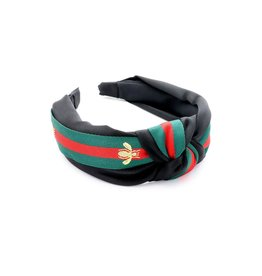 KNC SICILY Knotted Headband- Black