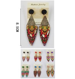 Fuenteze CRIS Tribal Dangle Earring