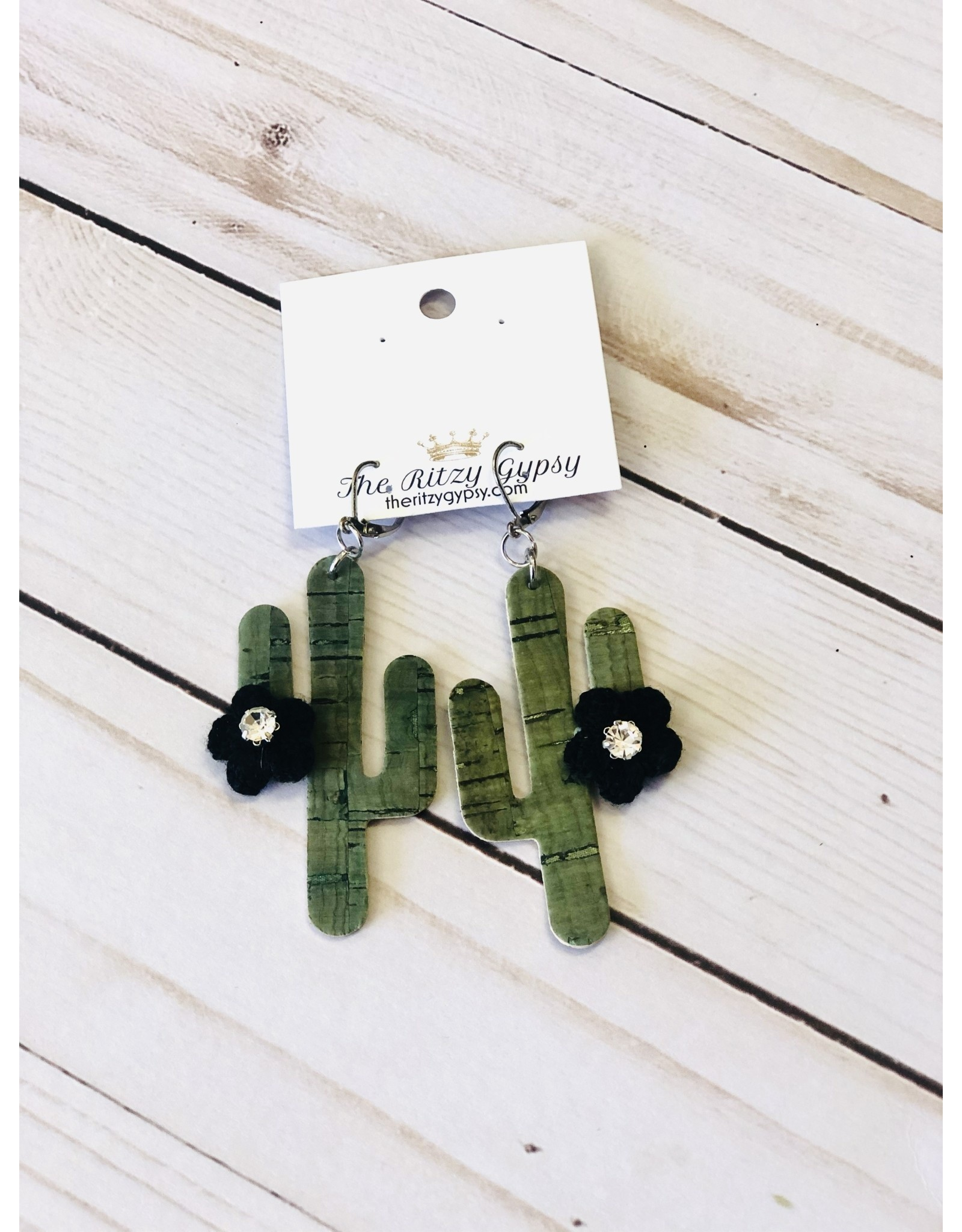 The Ritzy Gypsy ARIZONA Cactus Earring
