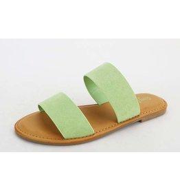 WATERFRONT Double Strap Sandal, Mint