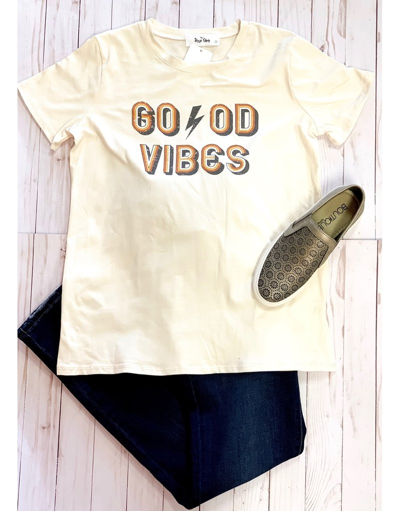 The Ritzy Gypsy BOLT Good Vibes Graphic Tee