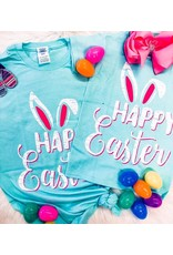 Pearls and Paper Dolls HAPPY EASTER T-shirt