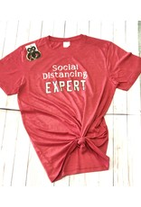The Ritzy Gypsy SOCIAL DISTANCING EXPERT Tee