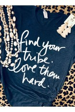 P & D Wholesale LOVE YOUR TRIBE Graphic Tee (S-XL)