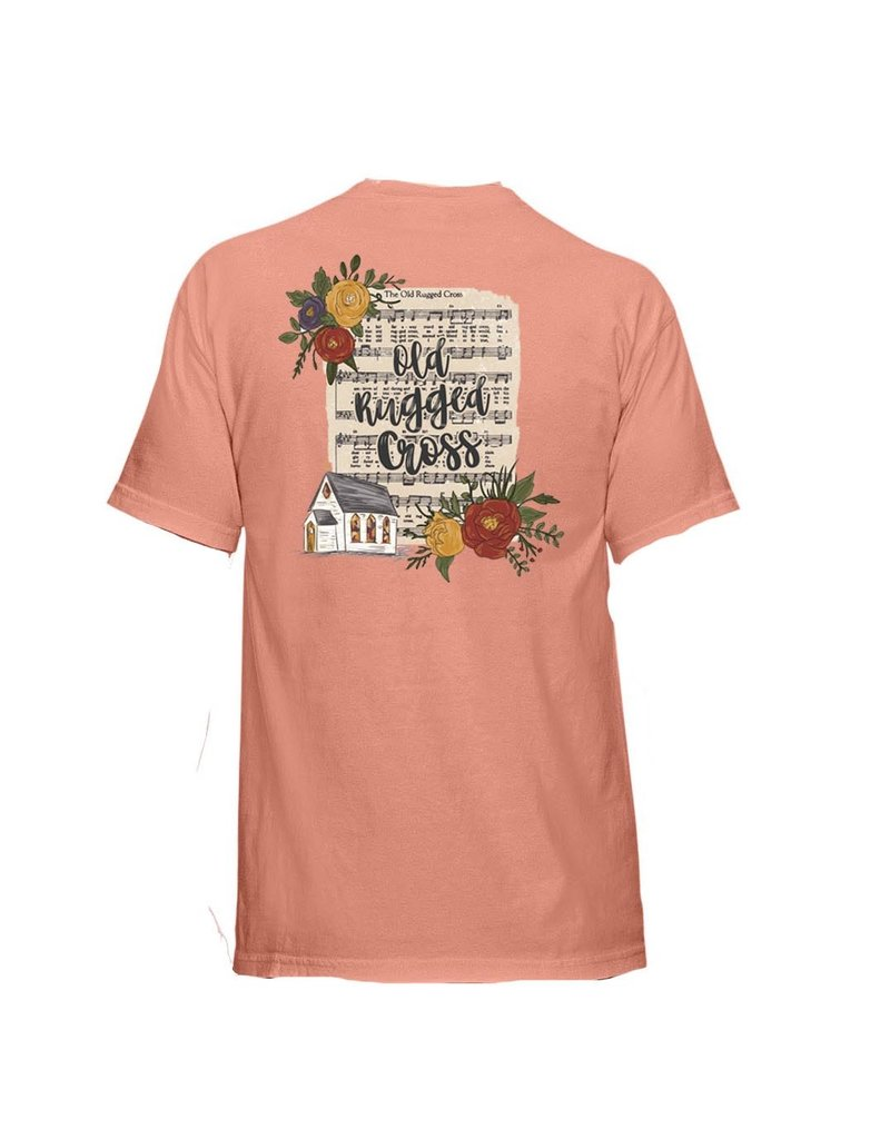 Janie Marie OLD RUGGED CROSS Graphic Tee (S-2XL)