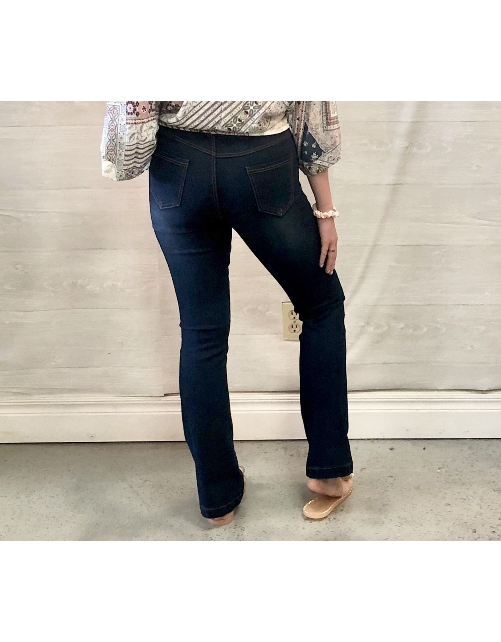 Color5 LUXE Pull On Bootcut Jeans