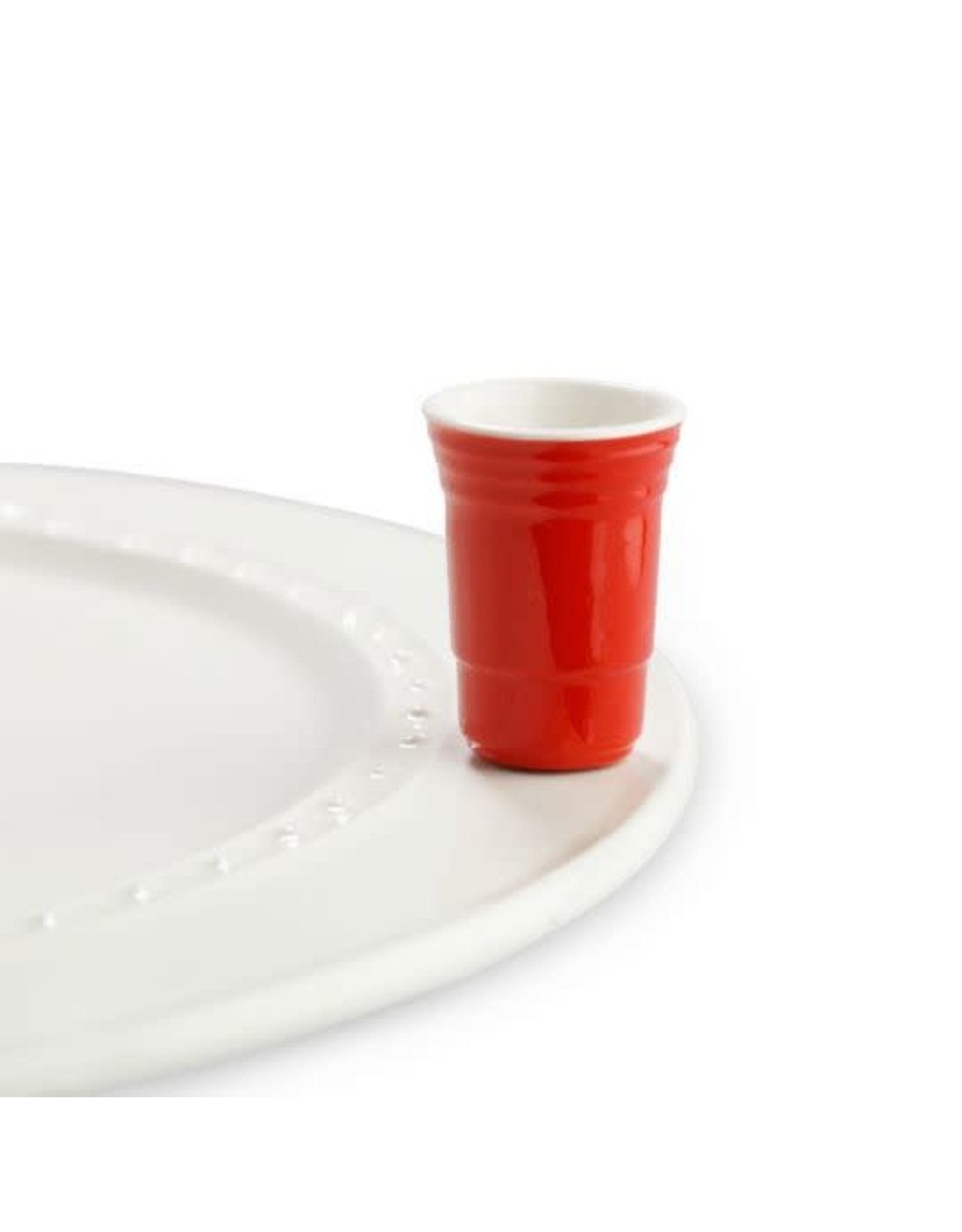 The Ritzy Gypsy Nora Fleming Mini Red Solo Cup (holds toothpicks)
