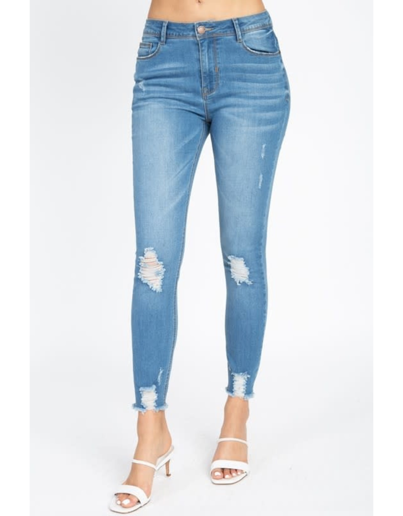 The Ritzy Gypsy MAYFAIR Distressed Jean