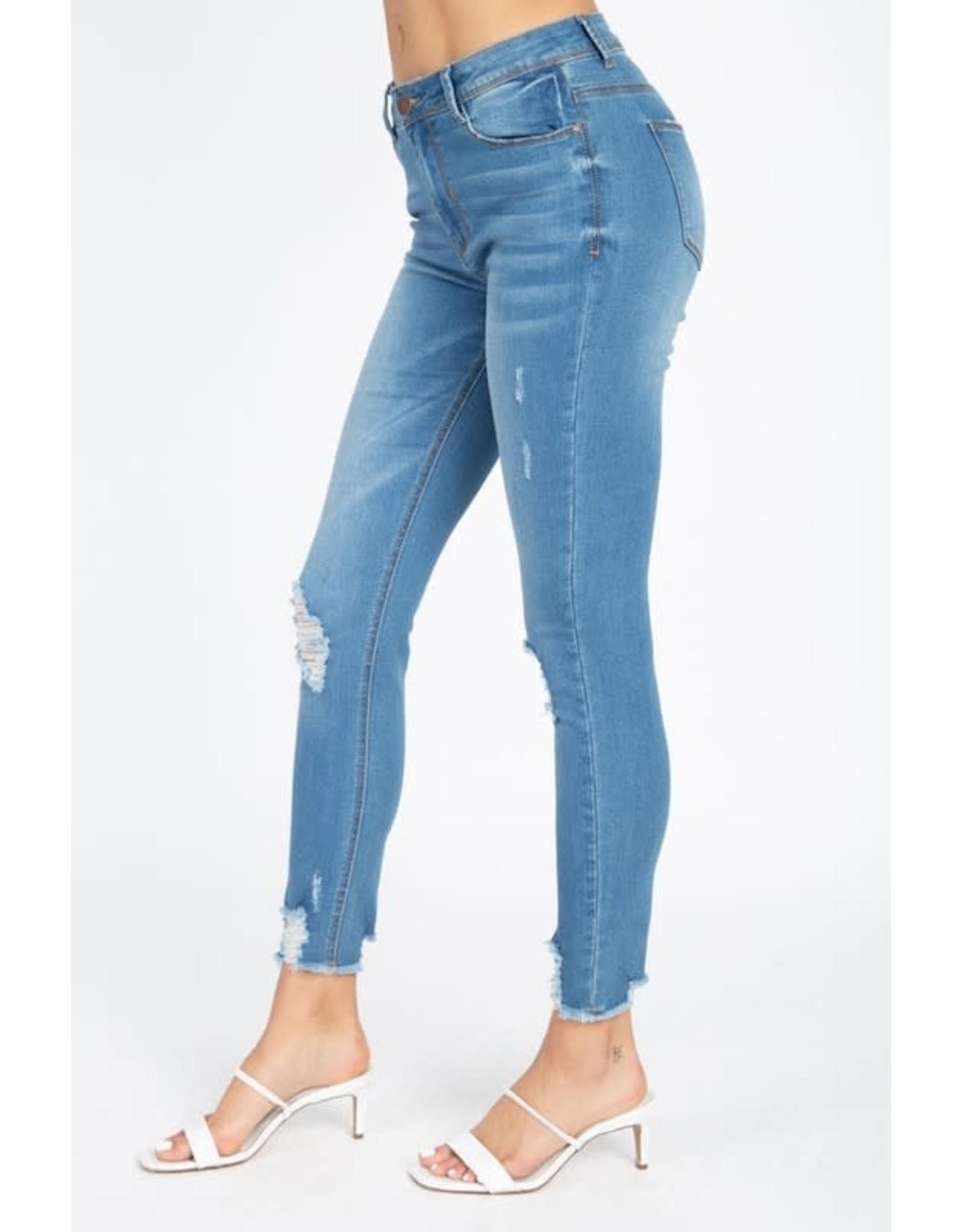 MAYFAIR Distressed Jean