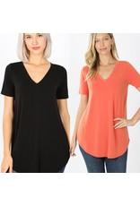 Zeana ROSEDALE V-Neck Top