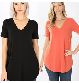 The Ritzy Gypsy ROSEDALE V-Neck Top