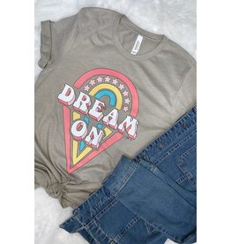 L&B Life DREAM ON Graphic Tee