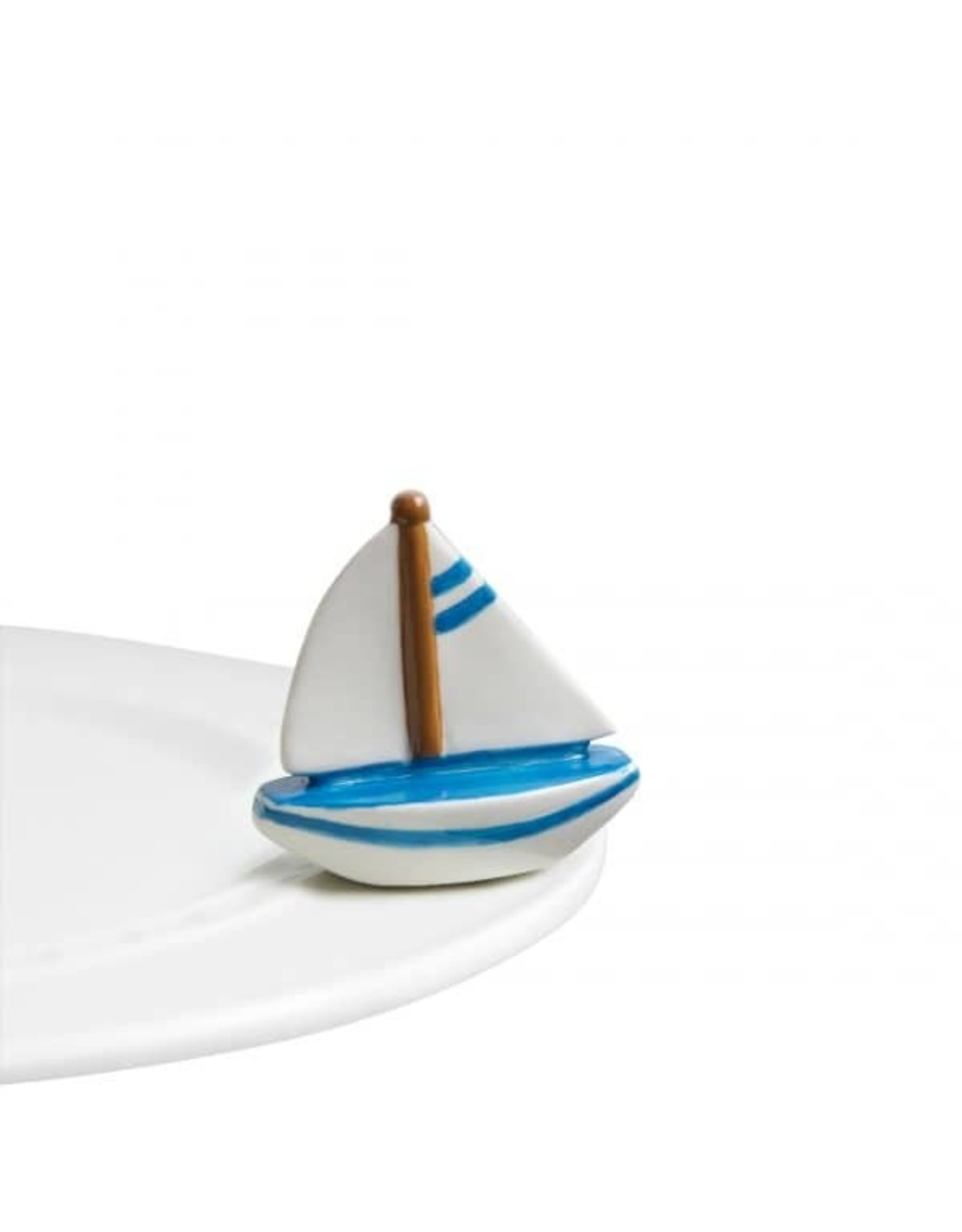 Nora Fleming SAIL ME AWAY Mini (Sailboat)