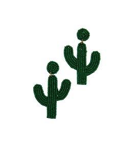 Joia Trading BOTANICAL Bead Cactus Earring