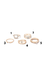 Joia Trading MILO Gold Rings