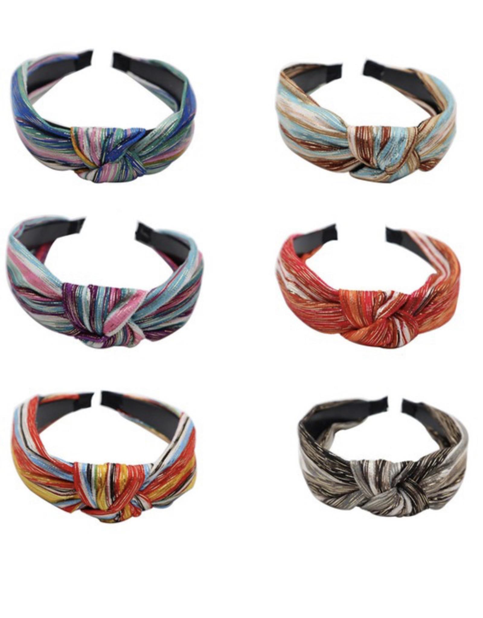 Funteze Accessories CASEY Knotted Headband