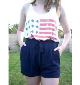 MAGUIRE Paperbag Shorts