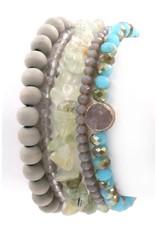 Art Box MINERAL Stretch Bracelet Set